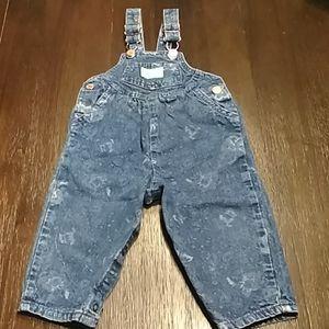 Oshkosh vintage bib overalls.  Size 18M